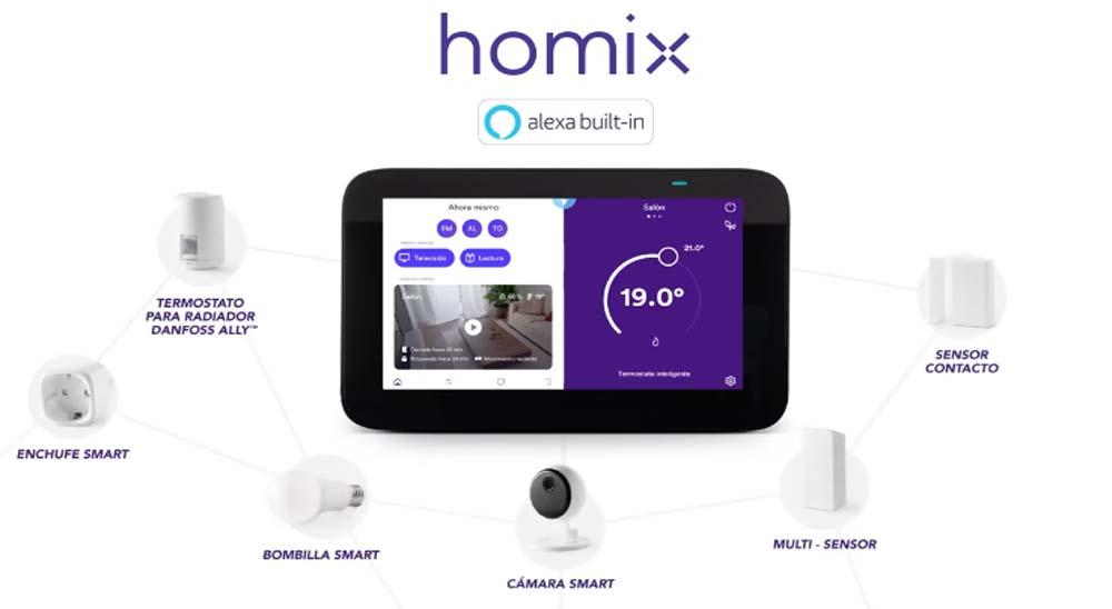 Homix, todo sobre el termostato inteligente de Endesa 1