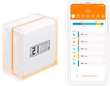 Termostato wifi, inteligente Netatmo NTH-ES-EC